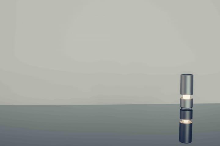 ペットボトルと同サイズで本格的に空気清浄 cadoのポータブル空気清浄機「LEAF Portable」