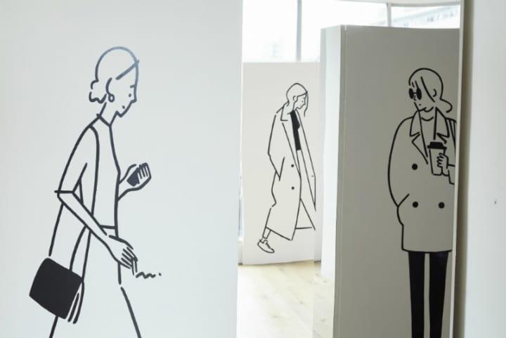 イラストレーター 長場雄の作品を特別展示する 「長場雄 day with VOLVO」展がボルボ スタジオ 青山で開催