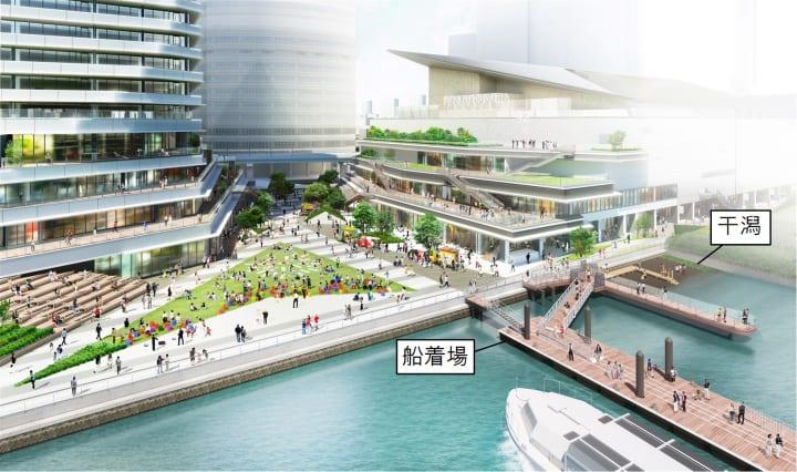 JR東日本グループが「WATERS takeshiba」を推進 東京・竹芝のウォーターフロント開発計画