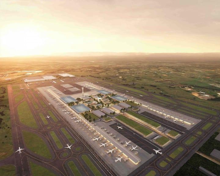 オーストラリアの新空港「Western Sydney Airport」 Zaha Hadid Architectsらが国際設計コンペで勝利を収…