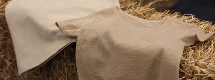世界初の麦わらをベースにした衣類が登場 電力会社 フォータムと繊維メーカー Spinnovaが共同開発