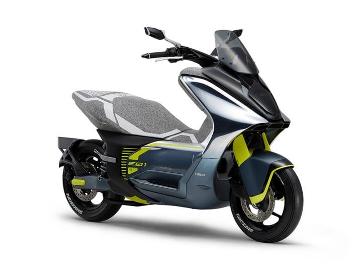 ヤマハ発動機のコンセプトスクーター「E01/E02」 東京モーターショー2019で世界初披露