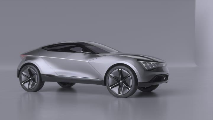 キアモーターズがSUV「Futuron Concept」を発表 切れ目がなく力強い「360度」デザインのEV