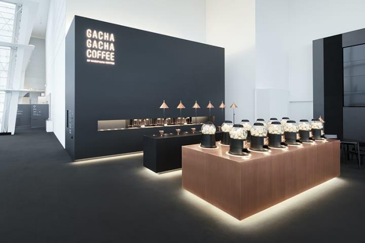 丸山珈琲のためにnendoがプロデュースした 「GACHA GACHA COFFEE」が東京シティビューに登場