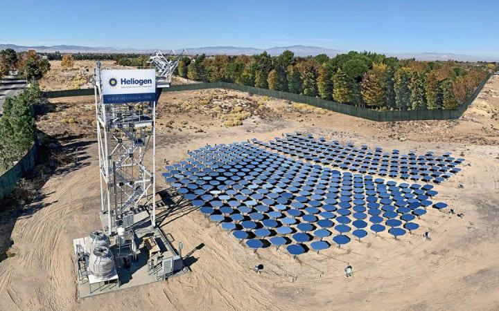 スタートアップ「Heliogen」 1000℃を超える太陽エネルギーの発生に成功 実用化を目指す