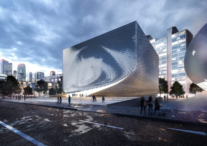 「Seoul Photographic Art Museum」の国際設計コンペ Jadric Architektur ZT GMBHと1990uaoの案が最優秀賞…