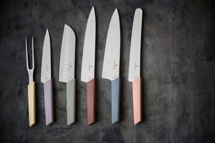 ビクトリノックスのキッチンウェア「スイスモダン」シリーズから スカンジナビアンカラーの新モデルが登場