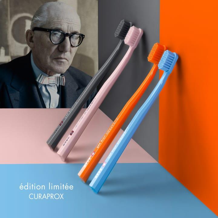 スイスのオーラルケア用品「クラプロックス」 ル・コルビュジエへのオマージュ歯ブラシを発売