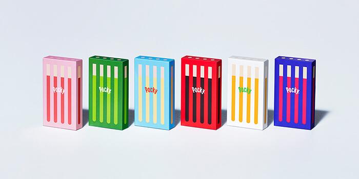 こだわりの素材とカラフルな可愛らしい見た目の プチギフトにぴったりな限定ポッキー6種が登場