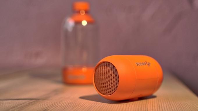ペットボトルを使って重低音強化できる Bluetoothスピーカー「SODAPOP」登場