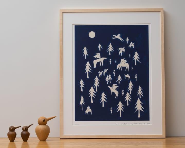KLIPPAN創業140周年記念 minä perhonen 皆川明による 原画アートコレクションポスターが登場