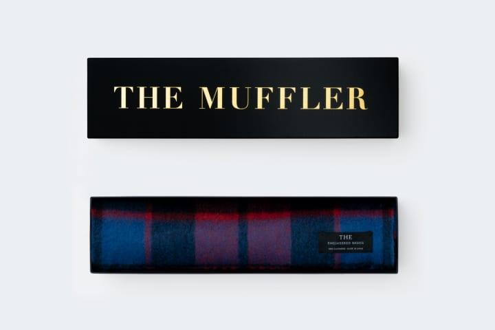 THEと呼べるマフラーにふさわしい素材を追求 無漂白のカシミアを使った「THE MUFFLER」が登場
