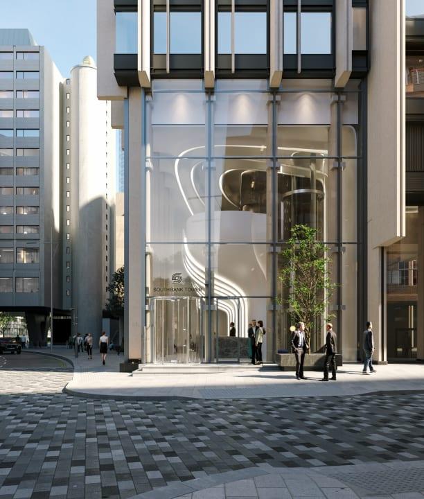 Zaha Hadid Architectsが「Southbank Tower」のロビーを改装 花弁の有機的な形態から着想を得たデザイン