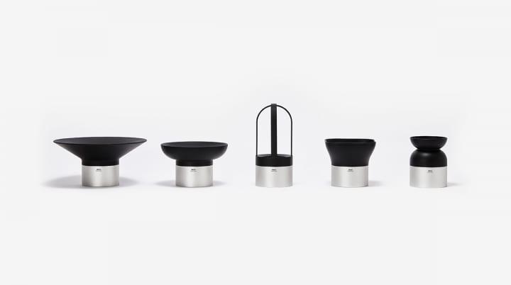 日本の「茶筒」をイメージした室内用プランター Ponti Design Studioが手がけた「Moju」