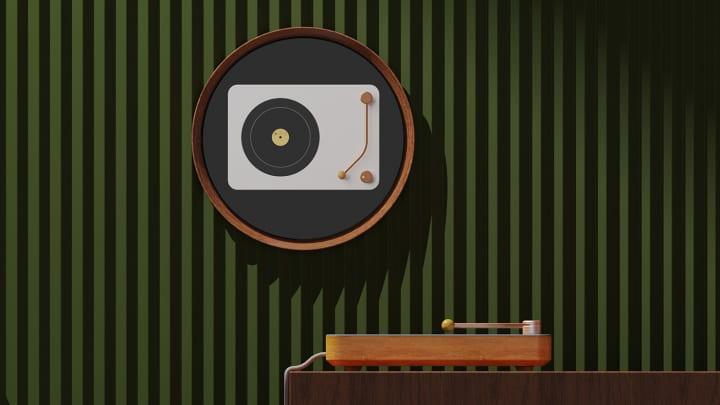 お茶と音楽の補い合う関係を落とし込んだ プロトタイプ「Vinyl record machine stove」