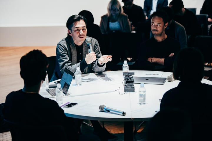 AXIS Design Round-table「拡張する『アイデンティティ』のデザイン」京谷実穂・難波謙太・西澤明洋・丸山…