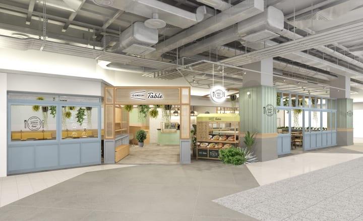 ショップ&カフェ「IZAMESHI table」オープン 「おいしく食べる長期保存食」のアレンジメニューを提供