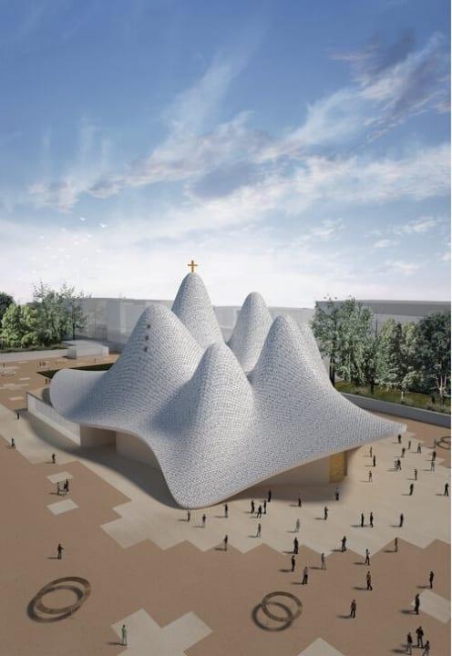 建築家 Francesco Lipariが率いるOFL Architecture イタリア・ロクリ教区教会の設計案を公開