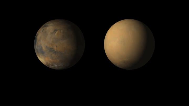 火星から水はどのように失われた? NASAが猛烈な砂嵐との関係性を説明