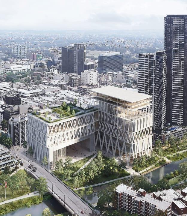 シドニー近郊でオペラハウス以来の大規模プロジェクト 新施設「Powerhouse Parramatta」の設計案が公開