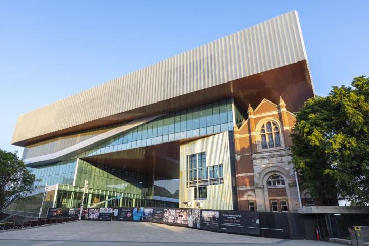 HassellとOMAが手がけたパースの博物館 「New Museum for Western Australia」2020年11月オープンへ
