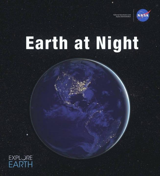 NASAから電子書籍「Earth at Night」が登場 宇宙から撮影した150点以上の「夜の地球」を収録