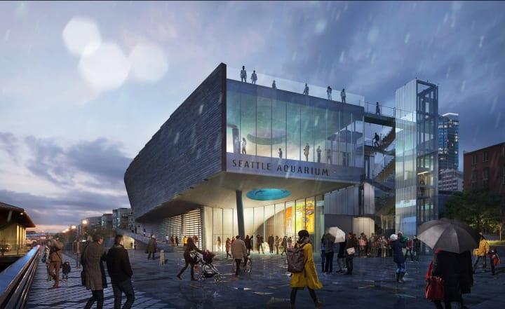 米シアトル水族館で新しい「Ocean Pavilion」建設へ コーラル・トライアングルやインド太平洋地域の生態系…