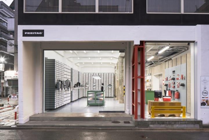 京都に新しいFREITAGストアがオープン デザインコンセプトは「ディストリビューションセンター」