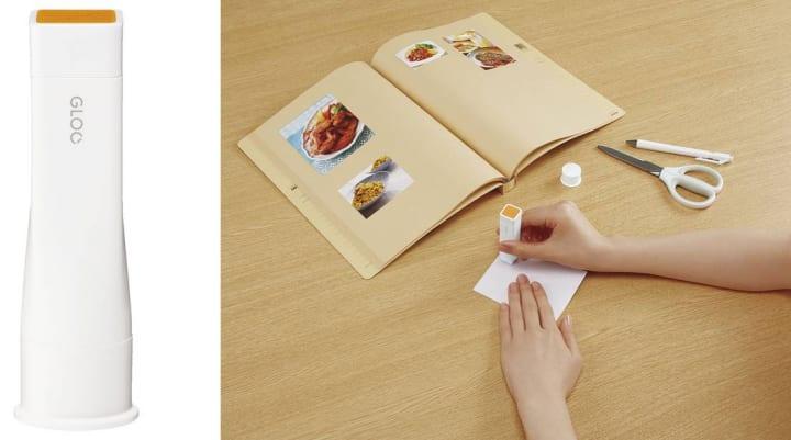 コクヨの接着用品シリーズ「GLOO」から シワなくキレイに貼れるスティックのりが登場
