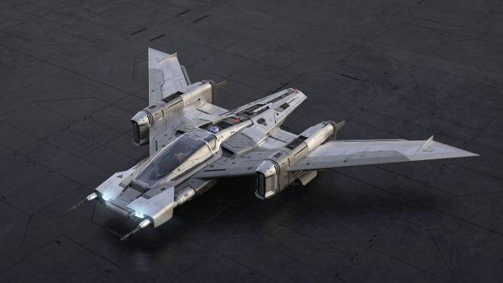 ポルシェとルーカスフィルムのデザインDNAが融合 夢の宇宙船「Tri-Wing S-91x Pegasus Starfighter」が公開