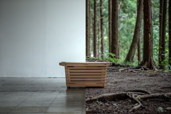 国内家具メーカーが作るアウトドアのための 木製シェルフコンテナ「IKIKIシェルフコンテナ」登場