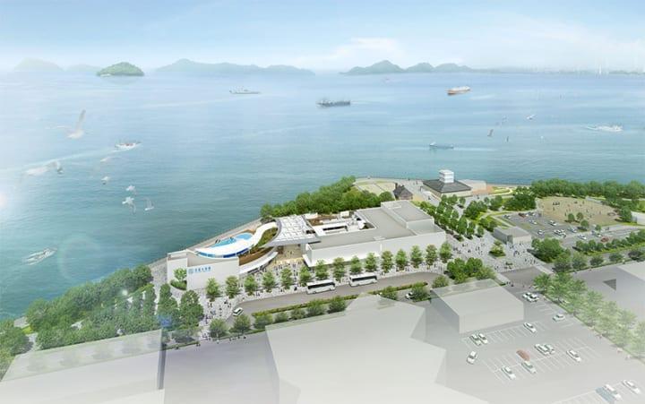 香川・宇多津町の「四国水族館」が2020年3月オープンへ 「四国水景」をテーマにした四国最大の次世代水族館