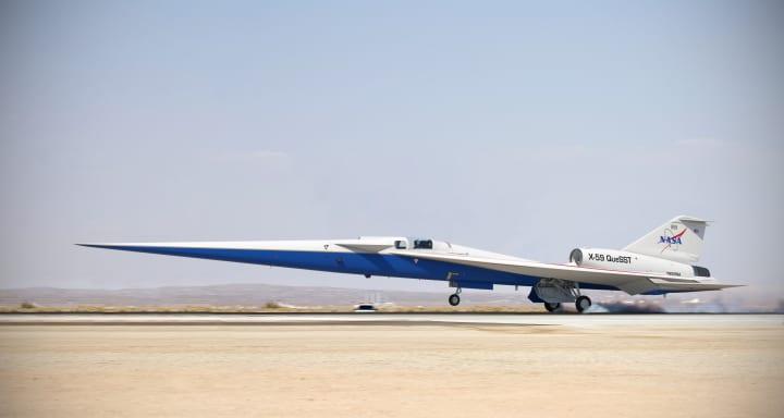 NASAが開発中の超音速航空機「X-59」 試験飛行に向けて開発の最終段階へ