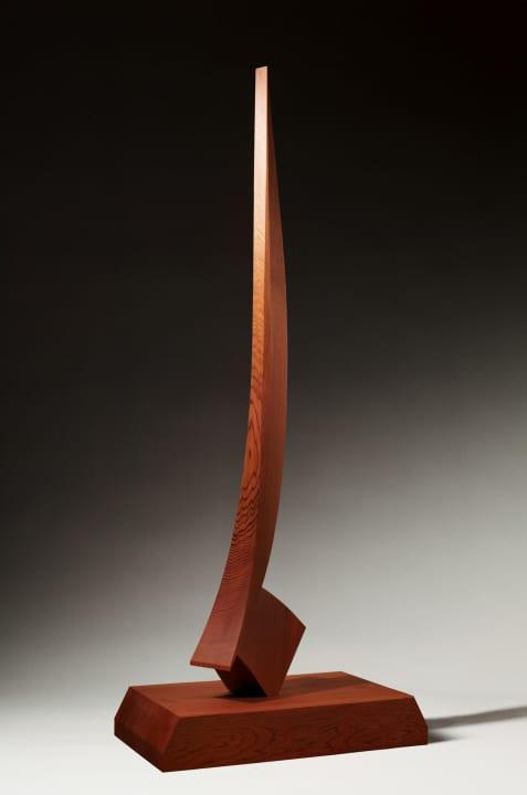 横浜美術館で「澄川喜一 そりとむくり」展 作家活動60年を総括する初の大規模個展