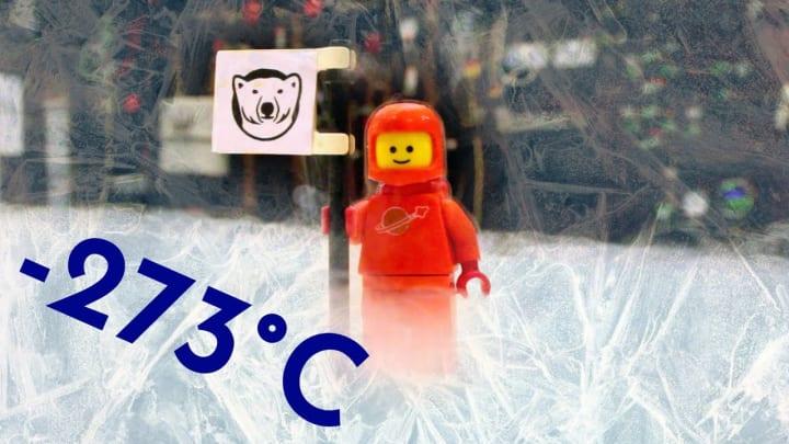 レゴのまったく新しい利用法を発見!? ランカスター大学の研究者が希釈冷凍器に設置した結果