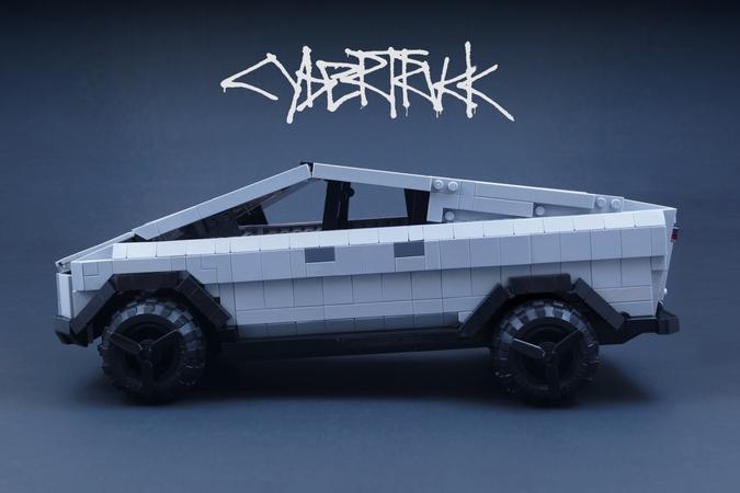 テスラの「Cybertruck」がLEGOに!? 「LEGO IDEAS」で商品化に向けて公開
