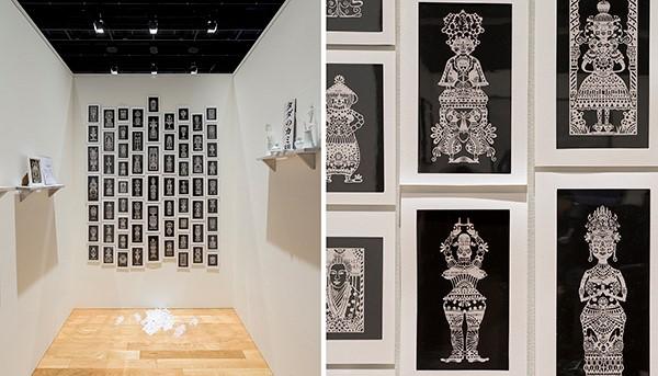 SICF20 グランプリアーティスト展 タナカマコト「切りひらひらく」がスパイラル1Fで開催