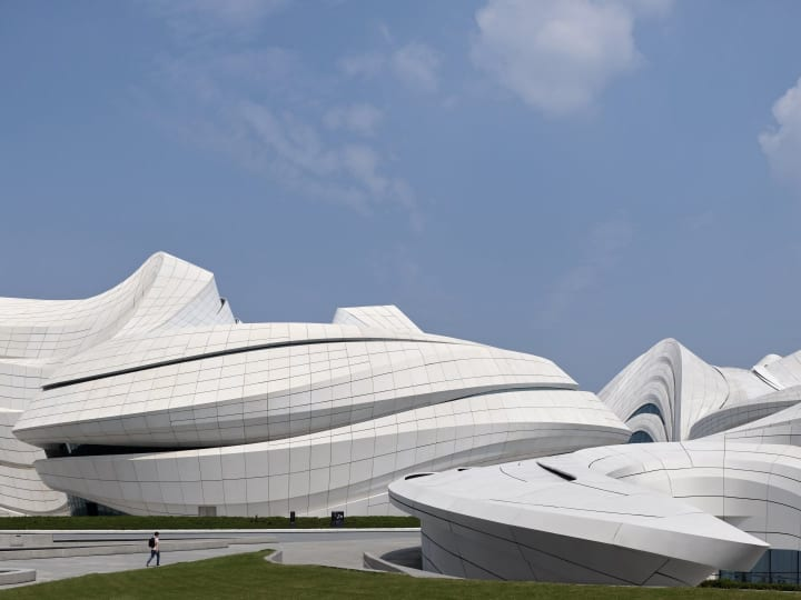 Zaha Hadid Architects設計による中国・長沙市の複合施設 「Changsha Meixihu International Culture …
