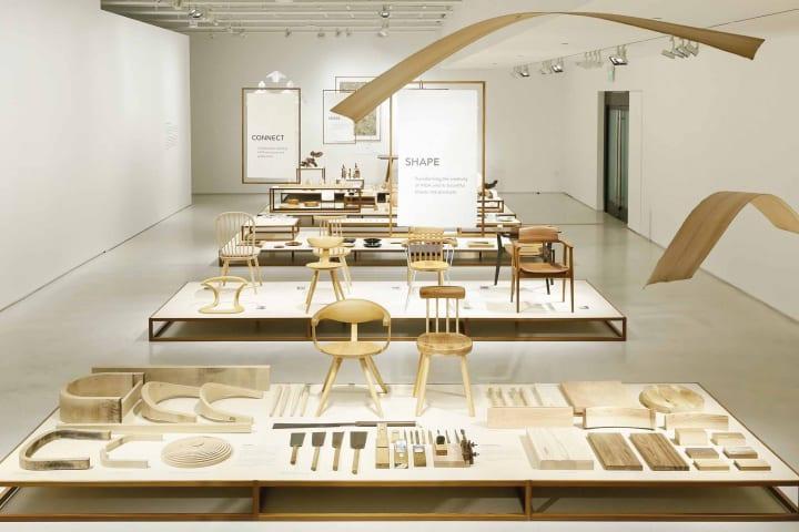 米ジャパン・ハウス ロサンゼルスで飛驒産業の協力による 「HIDA | A Woodwork Tradition in the Making」…