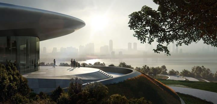 Zaha Hadid Architectsがマスタープランを手がける 中国・成都の「ユニコーン島」初の建築が完成間近に