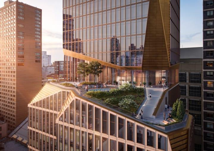 スノヘッタが彫刻のように設計する マンハッタンの「50 West 66th Street」