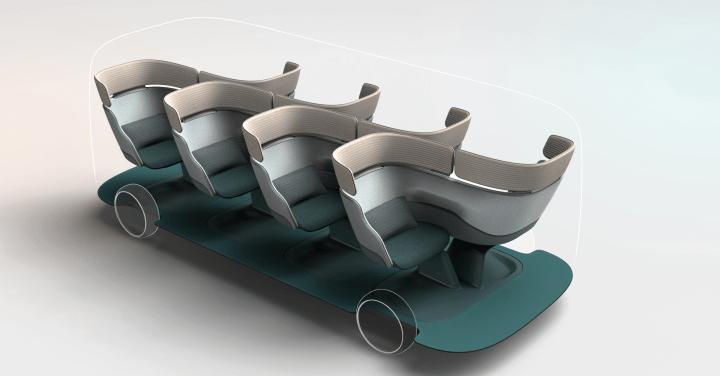 短・中距離の移動を最大限快適にする Layerによるライドシェアのコンセプト「JOYN」