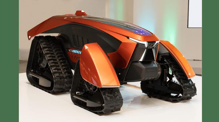 無人仕様と電動化技術による新しいスタイリング クボタのコンセプトトラクタ「 X tractor」