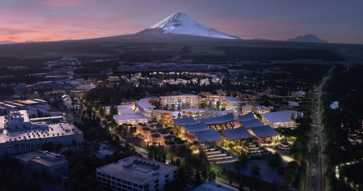 トヨタが「コネクティッド・シティ」プロジェクトを発表 ビャルケ・インゲルスが都市設計を担当