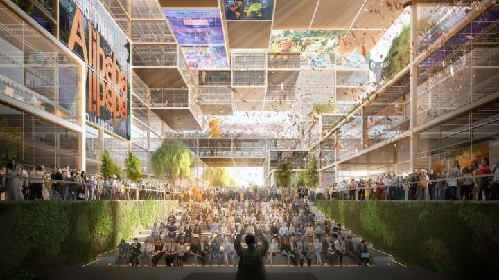 アリババが上海のリバーサイドに新本社を建設へ 設計はFoster + Partnersが担当
