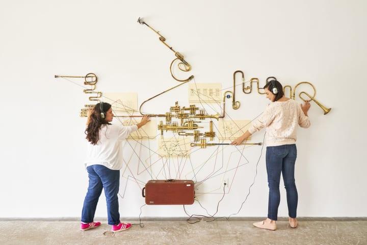 現代における「音」の影響を考える Steve Parkerによる個展「Futurist Listening」