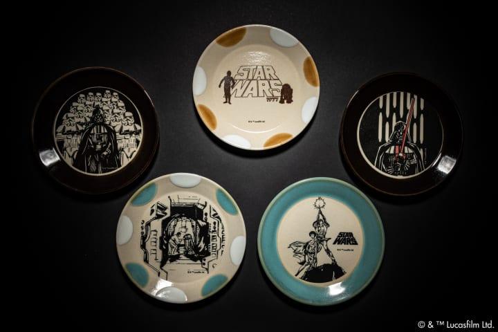 スター・ウォーズの世界を伝統釉で表現した 益子焼テーブルウェアが登場