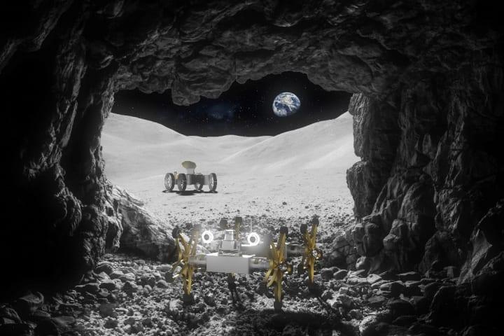 欧州宇宙機関が月面探査ミッションで使用する ロボット2台を開発するプロジェクトに着手
