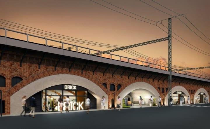 有楽町駅~新橋駅間の煉瓦アーチ高架橋に 新しい商業施設「日比谷OKUROJI」がオープンへ