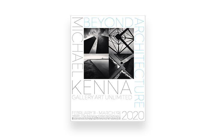 モノクロームの巨匠 マイケル・ケンナ写真展 「ビヨンド・アーキテクチャー」が開催